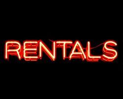 Rental sign
