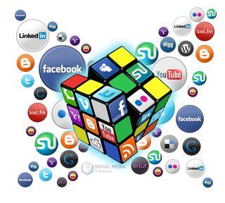 Social-media-cube