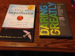 Brown, Brene - both books