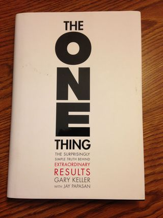 Keller - One Thing book