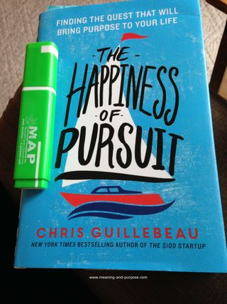 Happiness of Pursuit book - Guillebeau