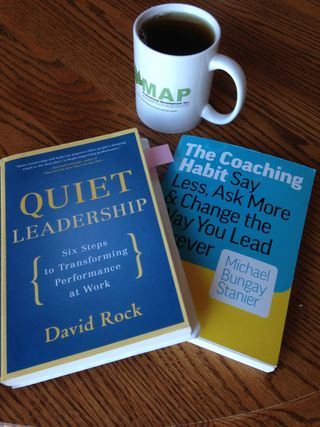 Coaching leadership books Rock Stanier