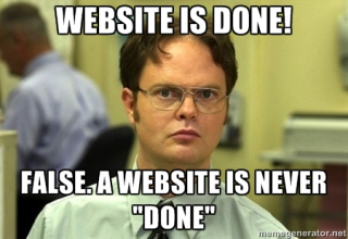 Websiteneverdone