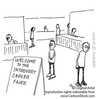 Introvert-Career-Fair