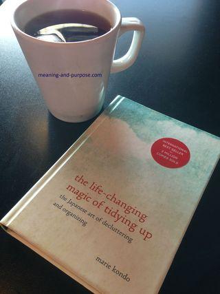 Magic of Tidying book w website